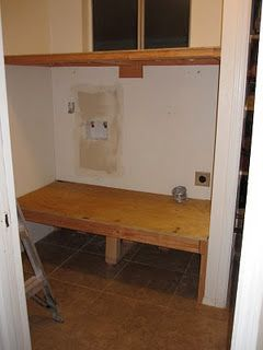 Build your own washer and dryer platforms!