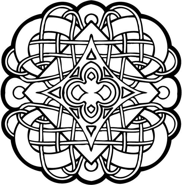 1000 Ideas About Celtic Mandala On Pinterest