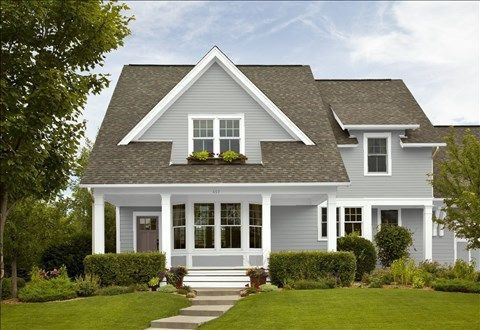 25 best ideas about coventry gray on pinterest benjamin for Benjamin moore stonington gray exterior