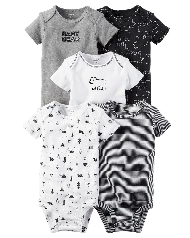 5-Pack Short-Sleeve Original Bodysuits from Carters.com. Shop clothing & accessories from a trusted name in kids, toddlers, and baby clothes.