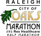 Raleigh City of Oaks Marathon and Rex Healthcare Half Marathon