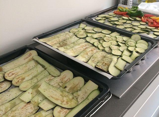 Geroosterde groente uit de oven