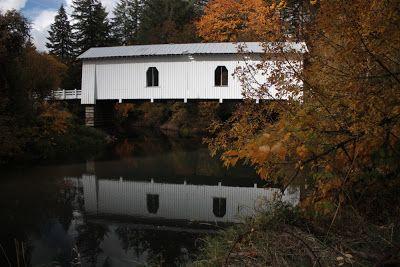 Oregon - mint senki más: Oregon fedett hidak - SCIO RÉGIÓ