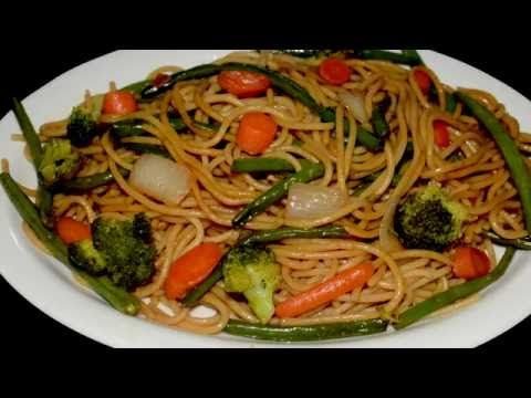 CHOW MEIN MIXTO Facil/Chicken & Pork Chow Mein - Easy to do - YouTube