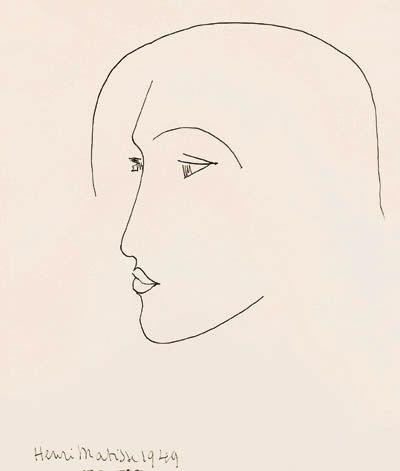 Tête de femme Henri Matisse                                                                                                                                                                                 More