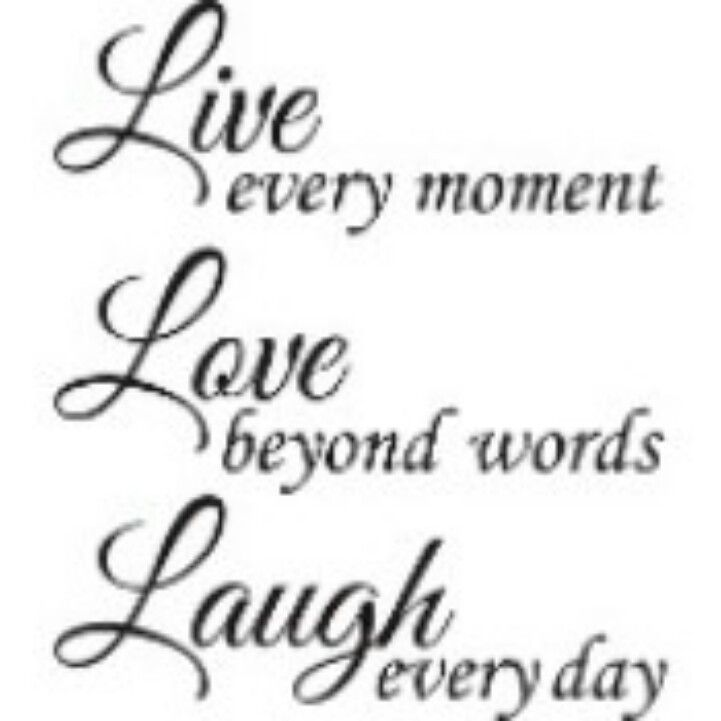 Live Love And Laugh Quotes: Live Love Laugh Quote Tattoo Idea