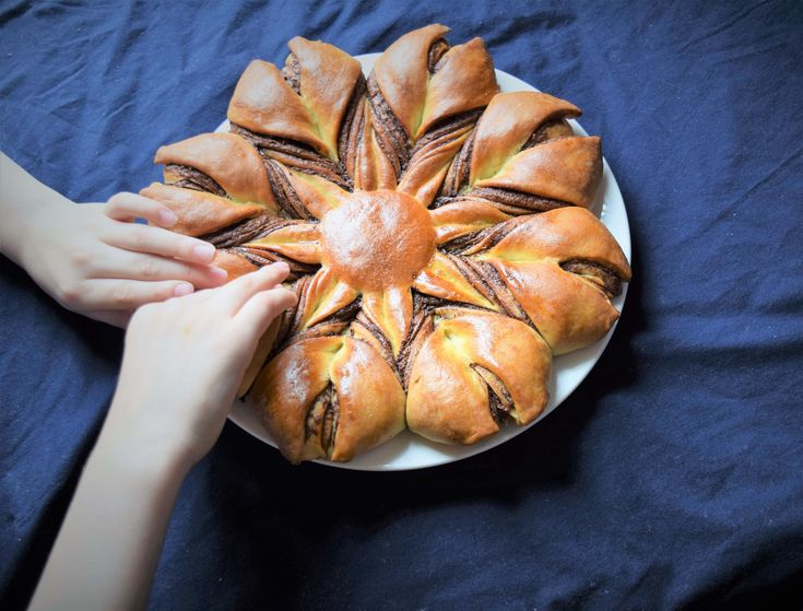 Nutella Star Bread - Powered by @ultimaterecipe