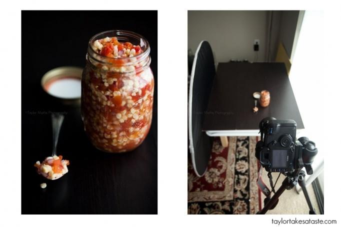 в каком режиме фотографировать еду последнего обеда