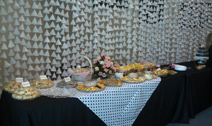 Diy Wax Paper Curtain For Bridal Shower Rehearsal