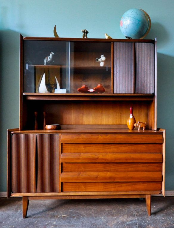 Mid Century Hutch By Lane Furniture Chicago Furniture