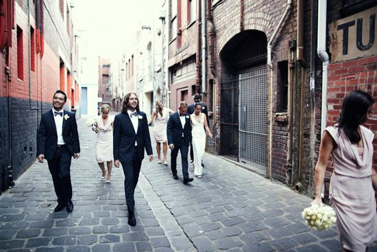 Emily and Trent's Chic Melbourne Wedding