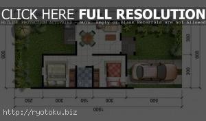 1341 desain pagar minimalis Ide Denah Rumah Minimalis Type 36