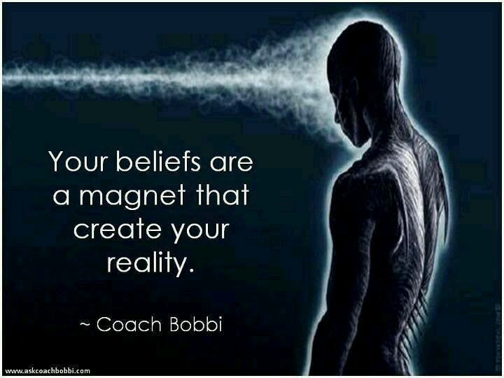Your beliefs and thoughts are a magnet that create your reality. Law of Attraction