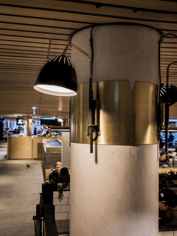 MLC Centre Food Court | Martin Place, Sydney | design by Luchetti Krelle | photography by Michael Wee