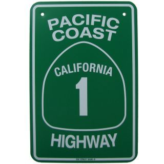 Pch California Highway Ca Hwy Road Street Traffic Sign