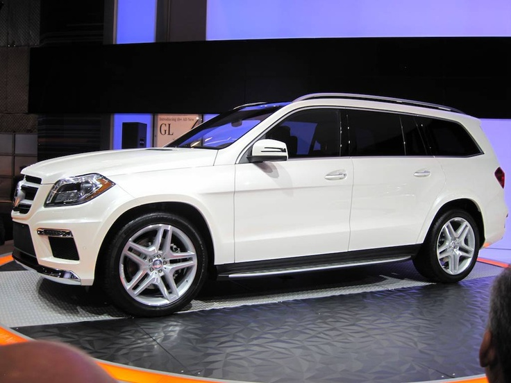 Mercedes Benz GL 2013- really nice....Like this car.