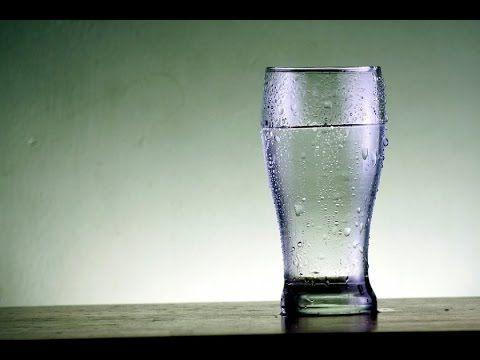 saber si hay energias negativas con un vaso - YouTube