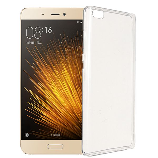 Ultra Thin Clear Transparent TPU Gel Soft Protective Case Back Cover For Xiaomi 5