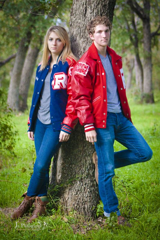 Twins Senior picture