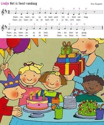 liedje: Het is feest vandaag