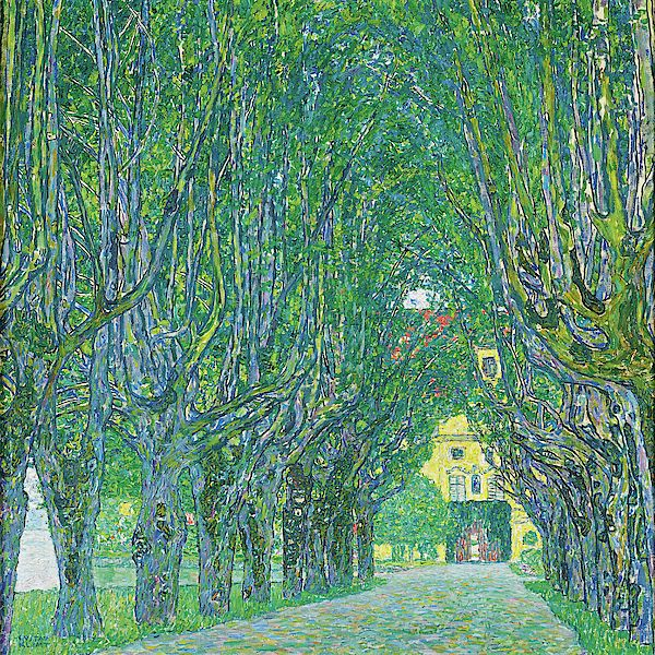 Avenue In The Park Of Schloss Kammer By Gustav Klimt Klimt Gustav Klimt Bilder