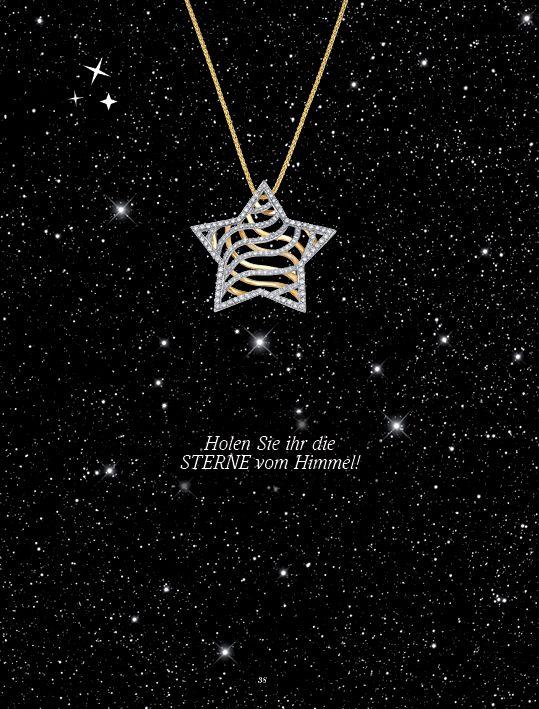 Holen Sie Ihrer Liebsten die Sterne vom Himmel - mit einer wunderschönen Diamantkette von bellaluce! Auf www.bellaluce.de finden Sie eine große Auswahl an elegantem Diamantschmuck. #schmuck #diamantschmuck #weihnachten #geschenkidee