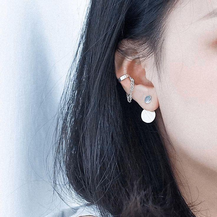 Chain Cuff Earring - Handmade Sterling Silver 925 - Tonkin Jewelry