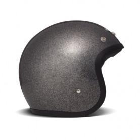 Casque de scooter DMD JET VINTAGE GLITTER Noir
