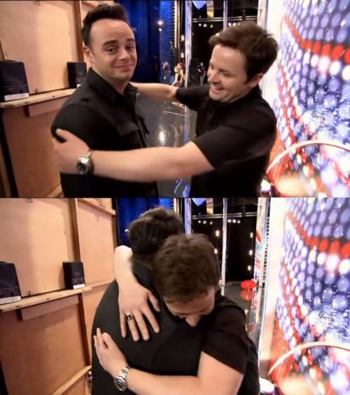 ant and dec - this is why i love these boys! best friends forever