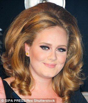All I want for Christmas is Adele's hair! JULIA LAWRENCE shows how ...