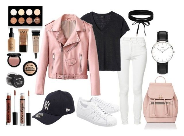 """""""My new style"""" by tess-302 on Polyvore featuring Mother, Deby Debo, adidas Originals, Accessorize, New Era, Boohoo, NYX, Forever 21 and Charlotte Russe"""