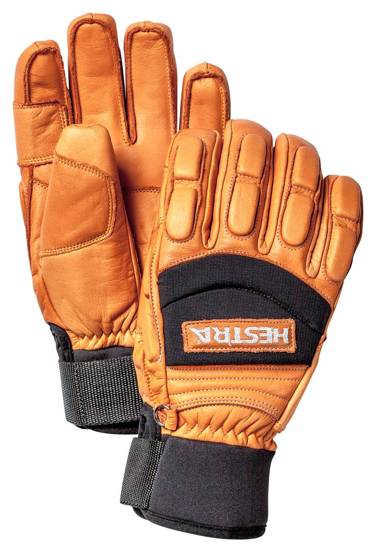 Mens down gloves - A Short Freeride Glove Made From Durable Leather With A Snug Neoprene Cuff Tight Fitting With External Seams For Increased Comfort And The Perfect