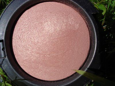 Mac - warm soul. The best blush I've ever used! A perfect rose shade with a hint of gold