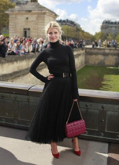 French actress Melanie Laurent was on hand to support Raf Simons at his ready-to-wear debut for Dior.