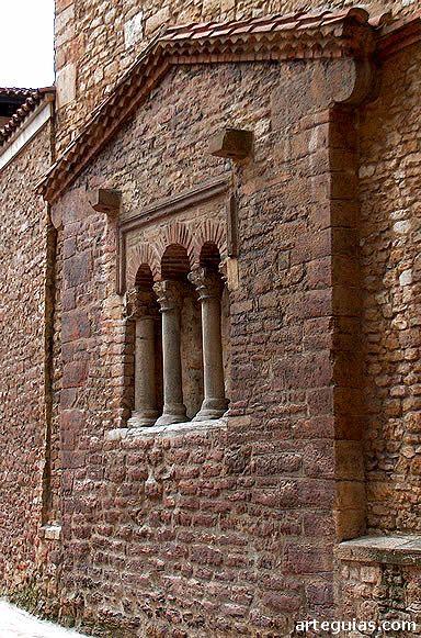 Testero de la iglesia de San Tirso, Oviedo