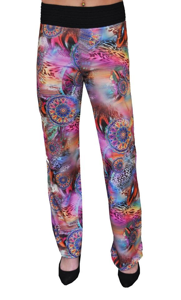 Hot New Item! Ponte Pants by EverWear  Bring some colour and funk into your outfit with this great pair of pants.  The pants have a comfortable fit with a 4cm Elastic Band around the waist.  Available in a range of prints.