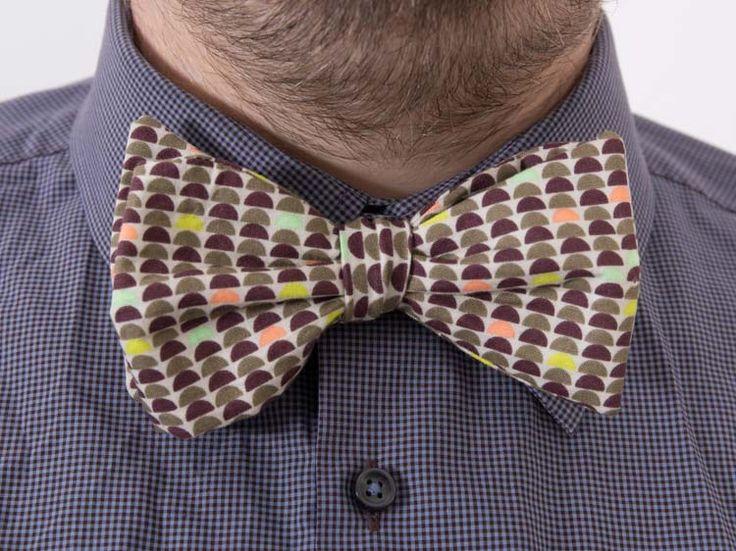 Tutoriel DIY: Coudre un #nœud #papillon coloré à nouer via DaWanda.com