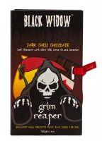 Grim Reaper Fekete Özvegy szellemchillis csokoládé 100g