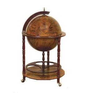 My Antique Reproduction Sixteenth-Century Italian Old World Globe Bar