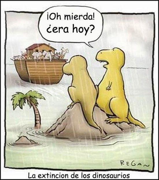 Otra teoría de la extinción de los dinosaurios.