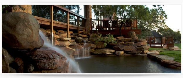 Mount Grace Country House & Spa, Waterfall at the Spa