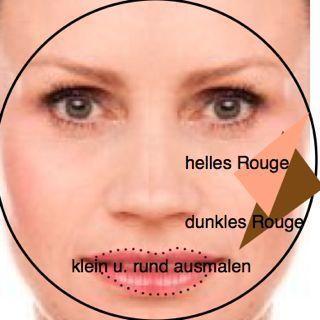 Runde Gesichtsform Tipps – Make up rundes Gesicht …