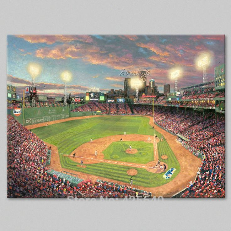 Find More Painting & Calligraphy Information about Framed Thomas Kinkade Oil Paintings Fenway Park Art Decor Painting Print Giclee Art Print On Canvas,High Quality canvas wall painting,China canvas painting china Suppliers, Cheap painting from Eazilife Oil Painting on Aliexpress.com