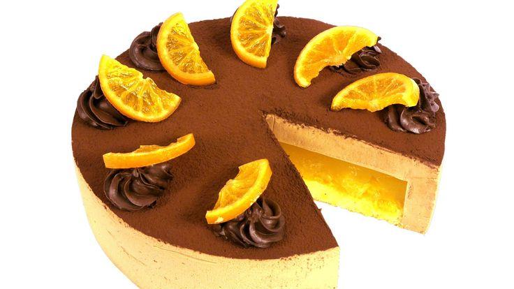 """Торт """"Делиция"""" Торт """"Делиция"""" - нежный и легкий десерт. Влажный, пропитанный апельсиновым соком бисквит, упругое желе и нежнейший ба..."""