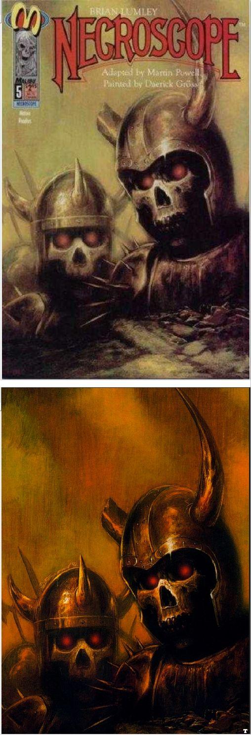 BOB EGGLETON - Necroscope #5 - June 1993 Malibu Comics - cover by comicvine.gamespot - print by google
