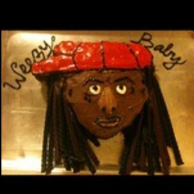 Lil Wayne Cakes Lil Wayne birthday cak...