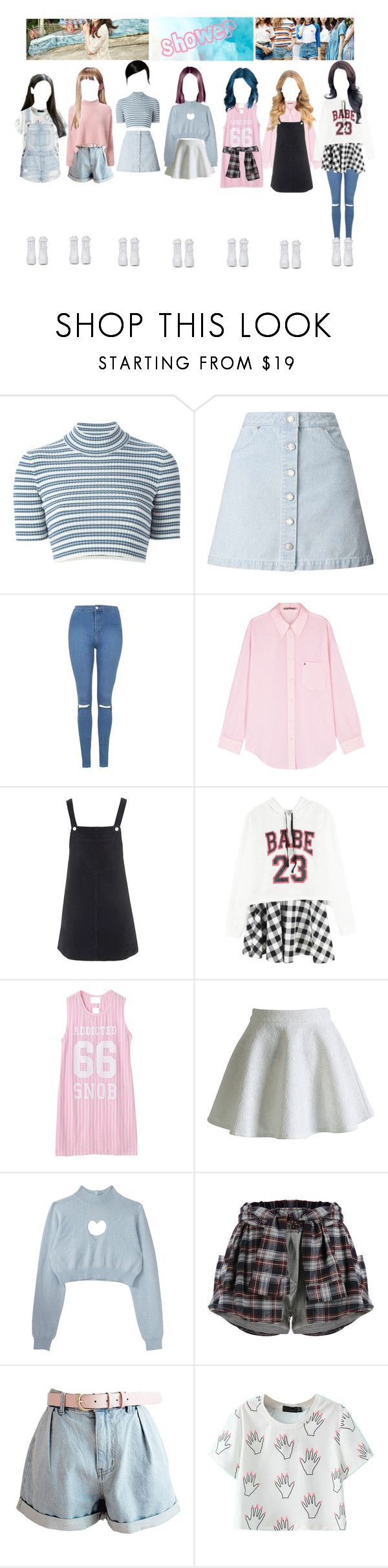 """""""DXPE Comeback Single Teaser"""" by irenejoyminzz ❤ liked on Polyvore featuring Alessandra Rich, Miss Selfridge, Topshop, Acne Studios, Chicnova Fashion, Chicwish and VIVETTA"""