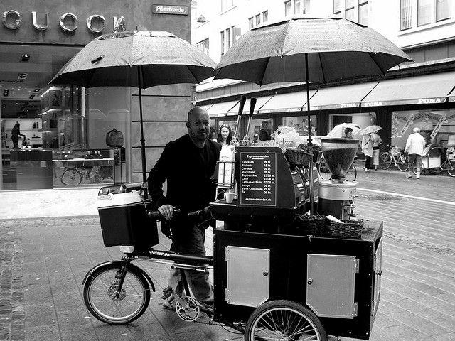 Espressomanden by Mikael Colville-Andersen, via Flickr
