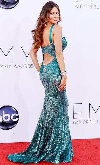#SofiaVergara in Zuhair Murad #Emmys