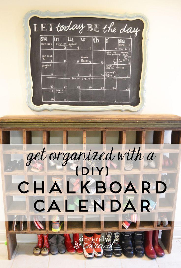 Diy Calendar Chalkboard : Best images about mud room ideas on pinterest diy